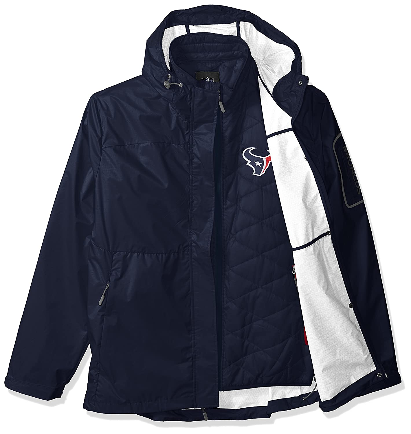 G-III Mens Acclimation 3-in-1 Systems Jacket Navy Large