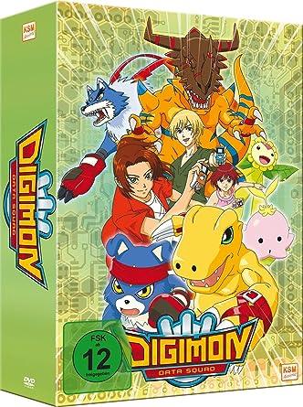 Digimon Data Squad, Vol. 1 Mit Sammelschuber Alemania DVD: Amazon.es: Naoyuki Ito: Cine y Series TV