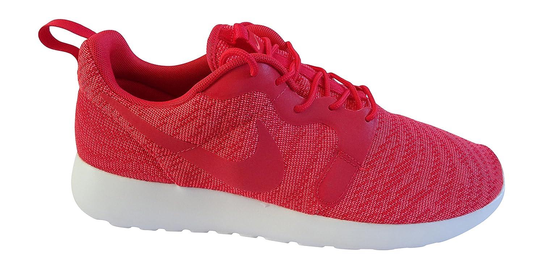 Nike Rosherun Kjcrd, Herren Laufschuhe  42 EU Hyper Red Hyper Red White 600
