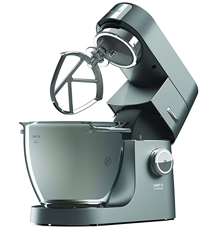 Smuk Kenwood Chef Titanium XL KVL8300S Stand Mixer - Silver: Amazon.co BH-68