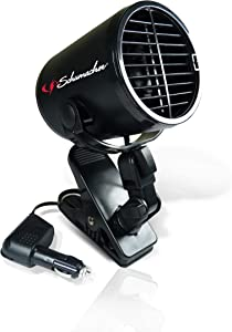 Schumacher 122 Fan, Turbo, Black