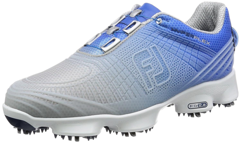 FootJoy Hyperflex II Boa Mens Golf Shoes - Blue/White B01JJRIK4M 9.5 D(M) US|Blue/Silver, Blue