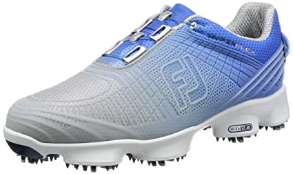 brand new 38913 8cba1 FootJoy FJ Men s Hyperflex II BOA Golf Shoes Gray Blue 7.5 M