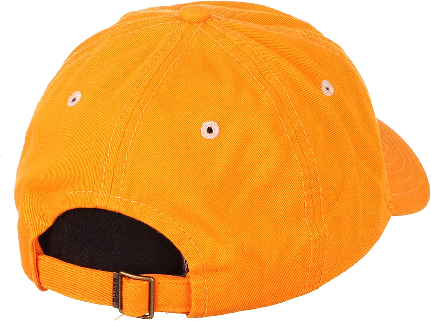 NCAA Zephyr Tennessee Volunteers Mens Patron Relaxed Hat Primary Team Color Adjustable