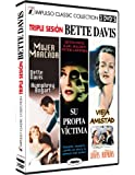 Pack 3 DVDs Bette Davis Mujer Marcada + Su Propia Victima + Vieja Amistad