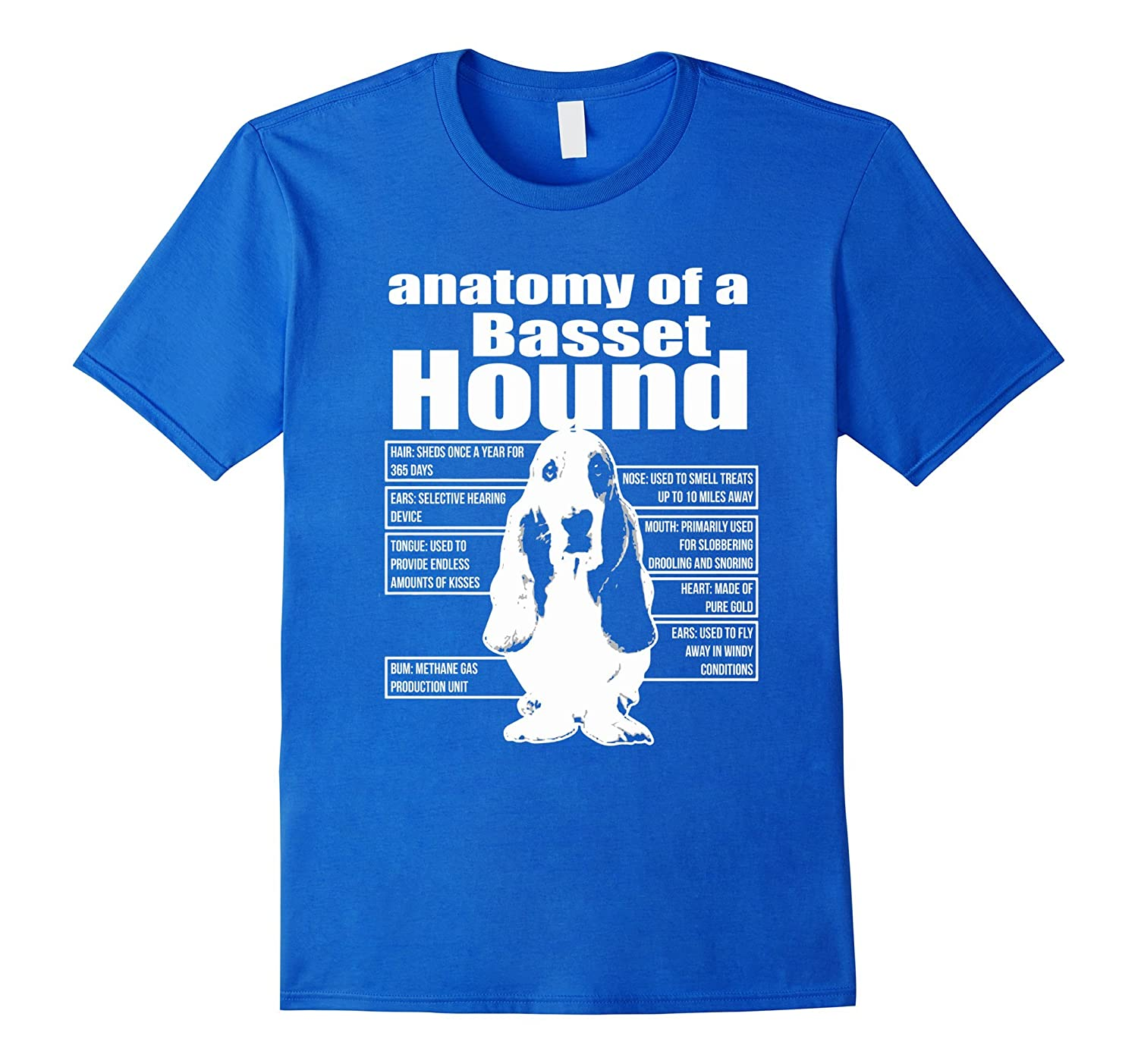 Amazon.com: ANATOMY OF A BASSET HOUND SHIRTS: Clothing