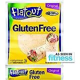 Flatout Gluten Free Flatbread Wraps, Original, 4 Weight Watchers SmartPoints (4 Pack)