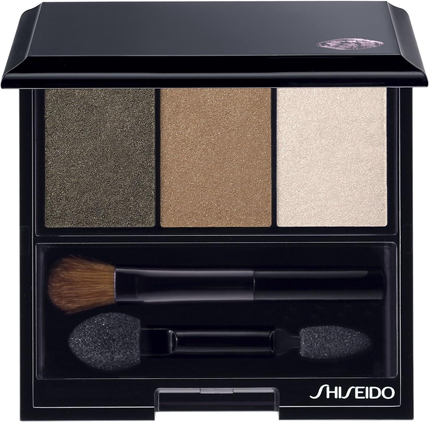 Shiseido Luminizing Satin Eye Color Trio for Women, No. BR307 Strata, 0.1 oz