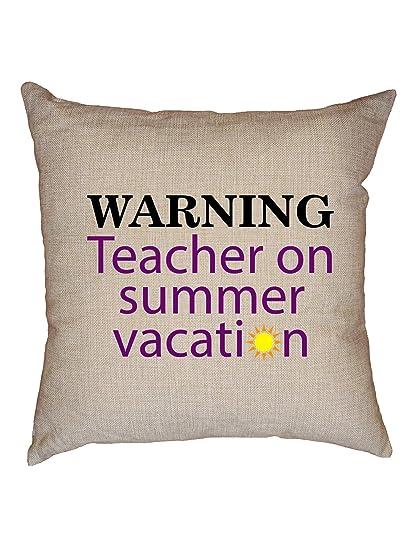 A Teachers Case Against Summer Vacation >> Amazon Com Hollywood Thread Warning Teacher On Summer Vacation