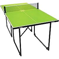 JOOLA Mesa de Ping Pong de tamaño Mediano, para Interiores, Incluye Red de 22 kg, Color Verde, 168 x 84 x 76 cm