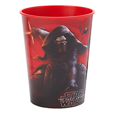 American Greetings Star Wars Episode VII 16-Oz. Plastic Cup, Party Supplies Novelty: Toys & Games