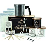 Blue Aurra DIY Candle Making Kit and Supplies- Scented Soy Candle Starter Kit with Fragrance Scents - Complete Candle…