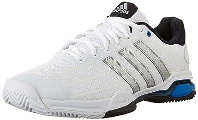 adidas Chaussures Barricade Club de Tennis, BlancArgent Mã