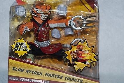 Amazon Com Kung Fu Panda Claw Attack Master Tigress Toys Games