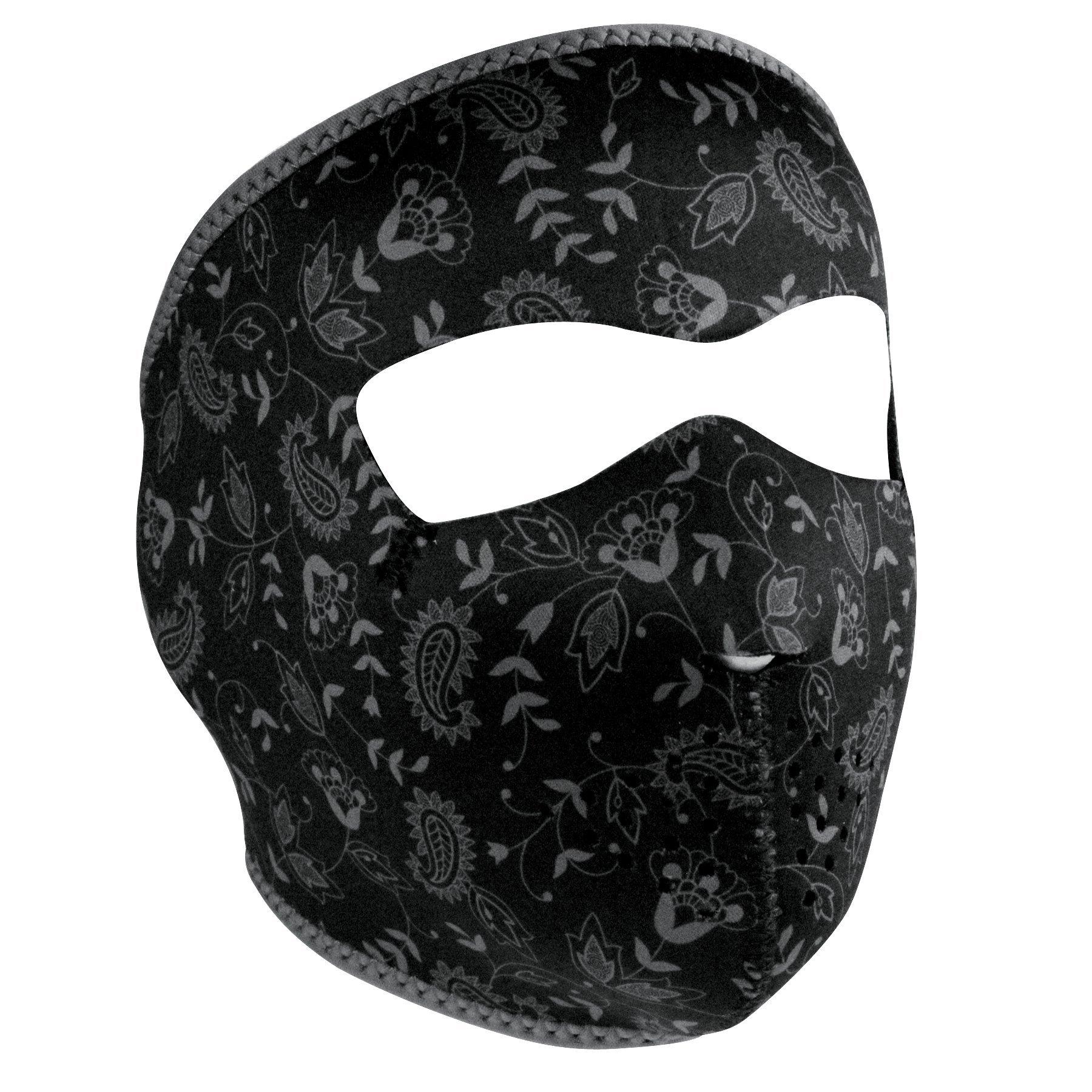 ZANheadgear facemask (Dark Paisley, Adult/Unisex) by Zanheadgear