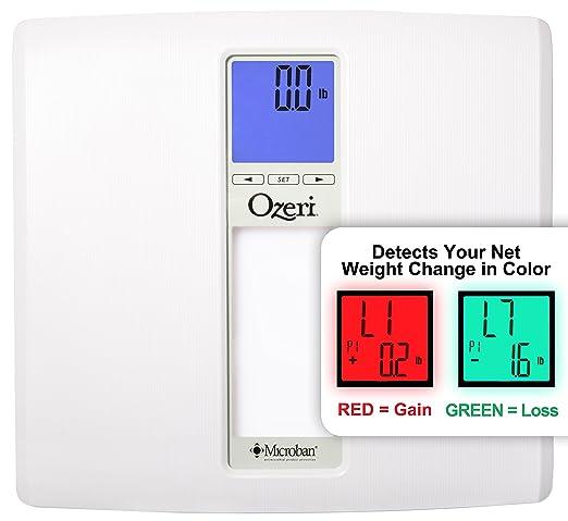 44 opinioni per Bilancia digitale da bagno Ozeri WeightMaster II (200 kg), con calcolo IMC e