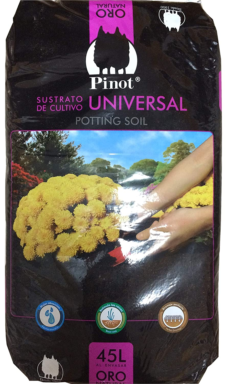 PINOT Turba sustrato de Cultivo Humus Corteza Pino 45 L substrato Premium: Amazon.es: Jardín