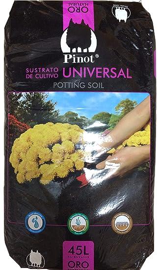 PINOT Turba sustrato de Cultivo Humus Corteza Pino 45 L substrato Premium: Amazon.es: Deportes y aire libre