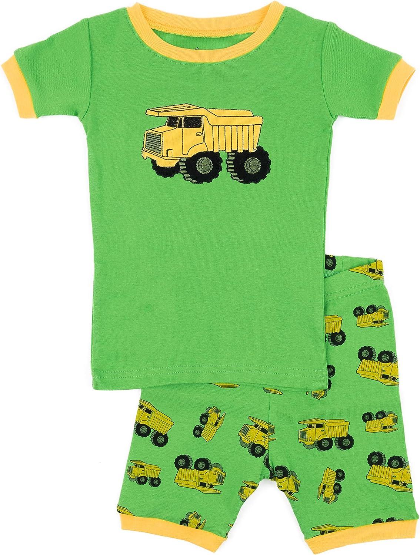 Leveret Kids & Toddler Pajamas Boys Shorts 2 Piece Pjs Set 100% Cotton Summer Sleepwear (2-10 Years)