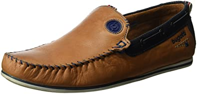 d7c338607fa4 Bugatti Men s F06671 Moccasins  Amazon.co.uk  Shoes   Bags