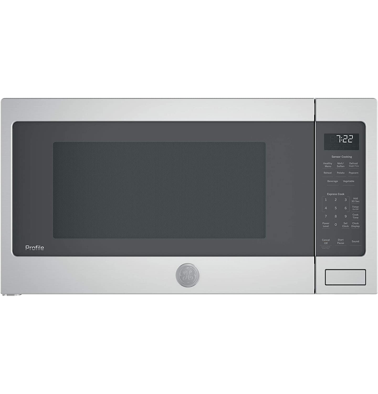 GE Profile PES7227SLSS 2.2 cu. ft. Countertop Microwave in Stainless Steel with Sensor Cooking (Certified Refurbished)