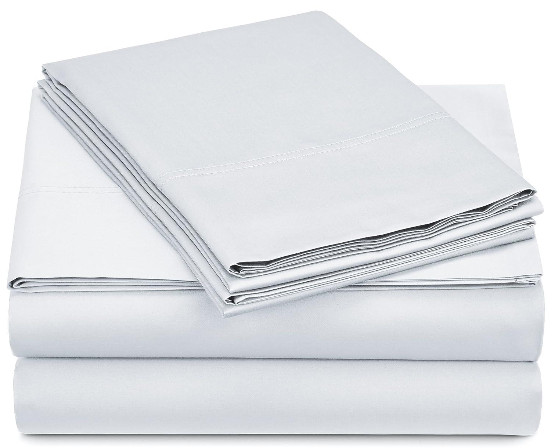 amazon com pinzon 500 thread count pima cotton sateen sheet set