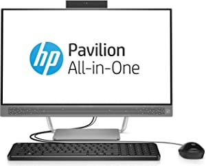HP Pavilion 24-b016 All-In-One Desktop Intel Core i3-6100T 3.2GHz 8GB 1TB 23.8in W10
