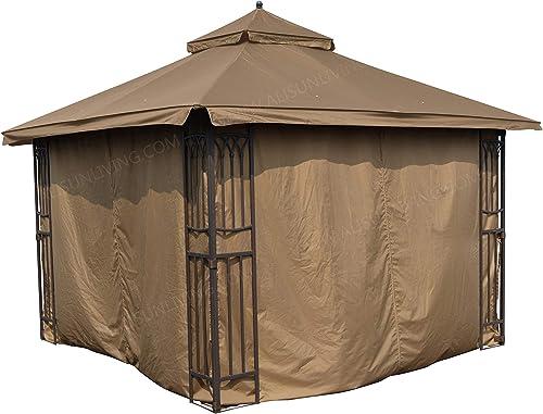 APEX GARDEN Universal Privacy Curtain Set