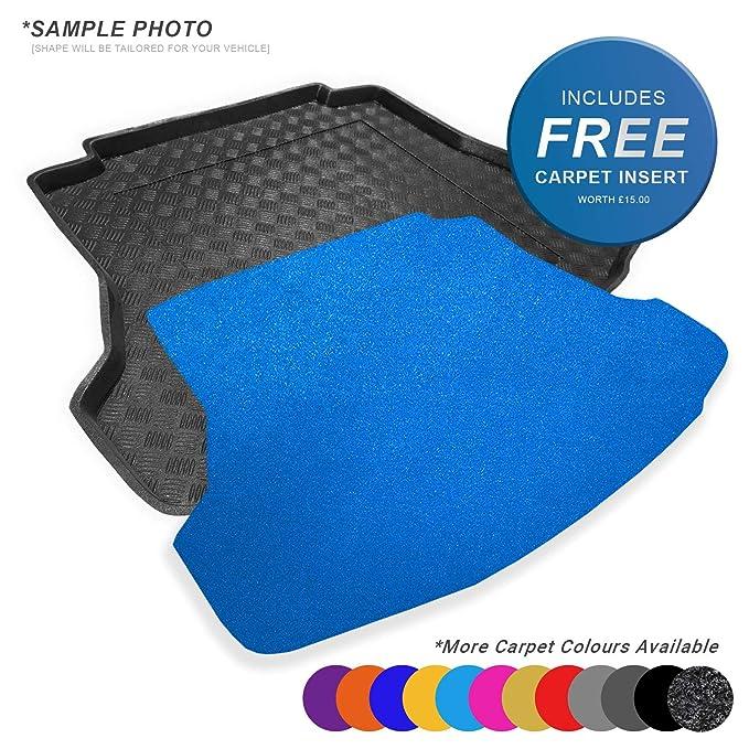 CARMATS4U.COM Fully Tailored PVC Boot Liner//Tray 101157 FREE Black Carpet Insert