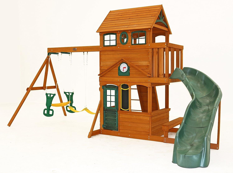 Big Backyard Ashberry Ii Wooden Play Set Toys Games Amazon Com