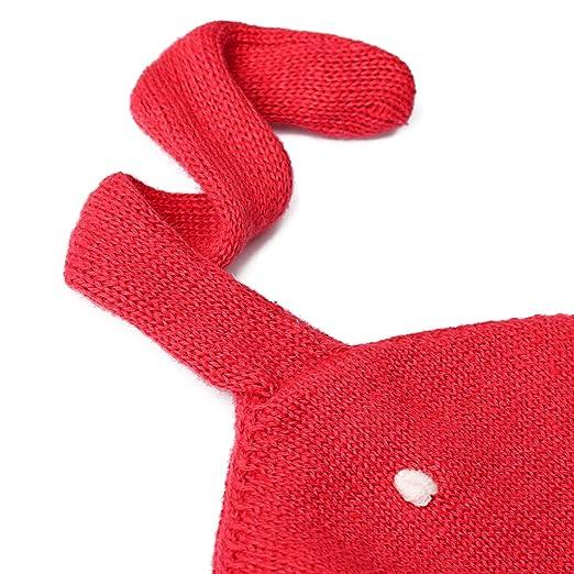 ZOEREA bonnet bebe chapeau bebe fille rouge Noël bonnet tricoté  Amazon.fr   Vêtements et accessoires 56f6587c03a