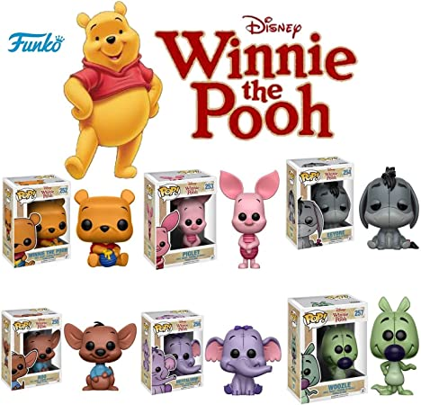 Funko POP! Disney Mystery 6 Pack - Random Stylized Vinyl Figure Set NEW: Amazon.es: Hogar