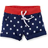 Carter's Baby Girls' 4th Of July French Terry Shorts