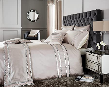 NEW LUXURY  DIVA DUVET COVER /& CURTAIN SET VARIOUS SIZES /& COLOURS AVAILABLE