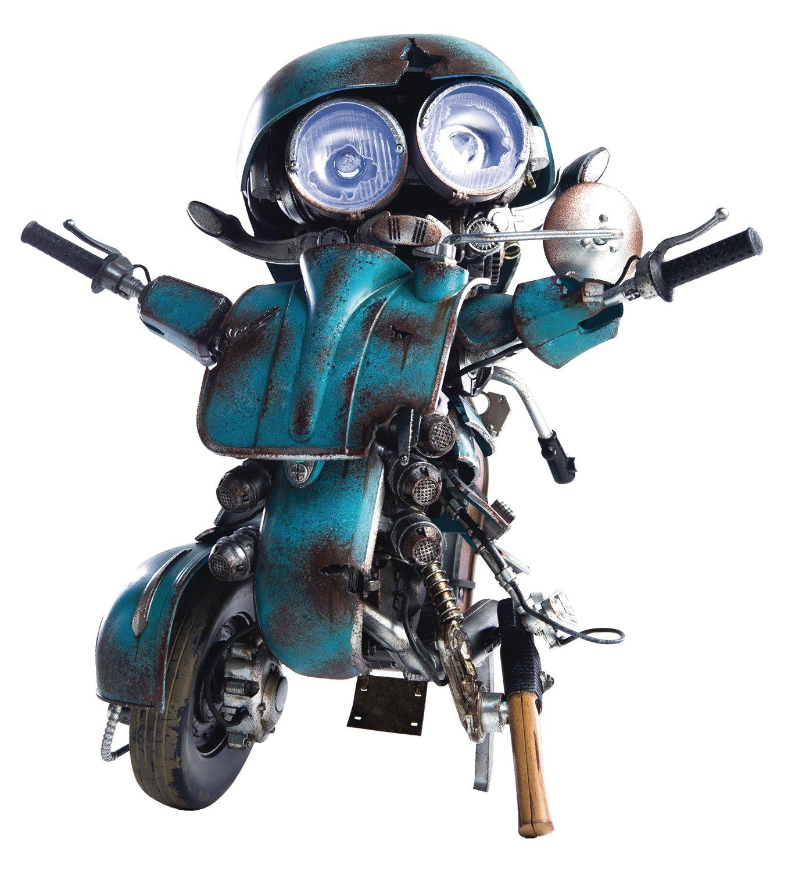 threeA Toys Transformers The Last Knight Action Figure 1/6 Autobot Sqweeks 20 cm