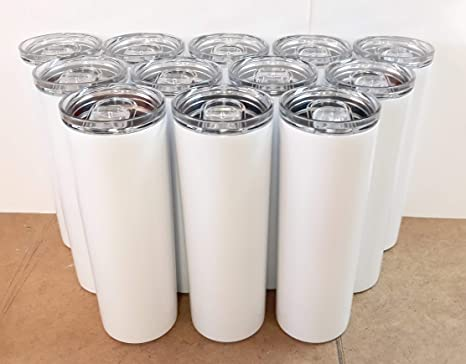 Amazon.com: Stellar 20 oz. Skinny Steel - Vasos de doble ...
