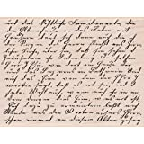 Hero Arts Hero Arts Mounted Rubber Stamps, 4 by 5.25-Inch, Old Letter Writing