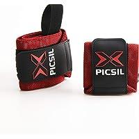 PICSIL crosstraining wrist wraps, sterke polssteun met duimlus, flexibele wrap gemaakt van rekbaar katoen, ideaal voor…