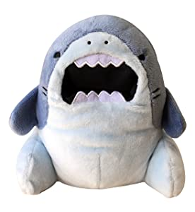 CLEVER IDIOTS INC SAMEZU ( Same-z ) Shark Plush Stuffed Animal - Cute, Collectible and Cuddly Toy Character - 6.5 inch - Authentic Japanese Kawaii Design - Jaggy