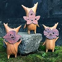Korogu Family Korogu Zelda 2021, houten corok-beeldje, speelgoed, handwerk, decoratie, essentie, gesneden harsnamen…