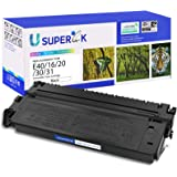 SuperInk Compatible for Canon E40 E30 E31 E16 E20 1491A002AA Black Toner Cartridge for PC140 PC170 PC310 PC325 PC940 PC980 Co