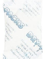 Dry-Packs Industries Silica Gel in Cotton Dehumidifier Absorbs Moisture 3 Gram 10PK, 3g, White