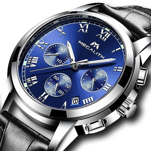 35d707907bfc Mens Watches Men Chronograph Waterproof Sports Date Calendar Luxury Analogue  Counts Dress Wrist Watch Gents Casual Business Quartz Stopwatch Fashion  Watches ...