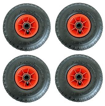 4 x rueda para carretilla (260 x 85 3, 00-4 ruedas carretillas