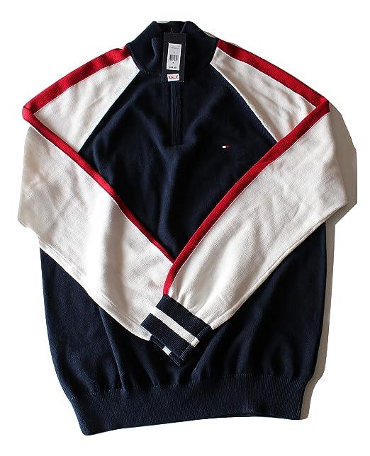 sweater navy herren tommy hilfiger