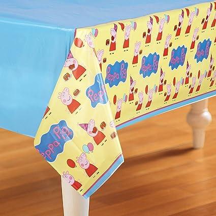 Amazon.com: Peppa Pig – Mantel de plástico: Toys & Games