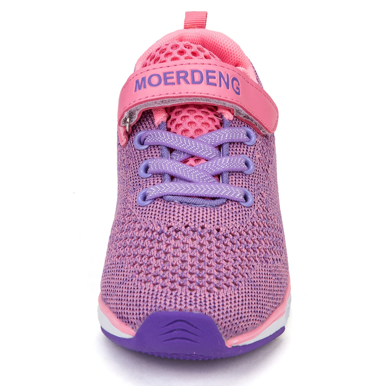 MOERDENG Kids Water Shoes Breathable Slip-on Sneakers for Running Pool Beach