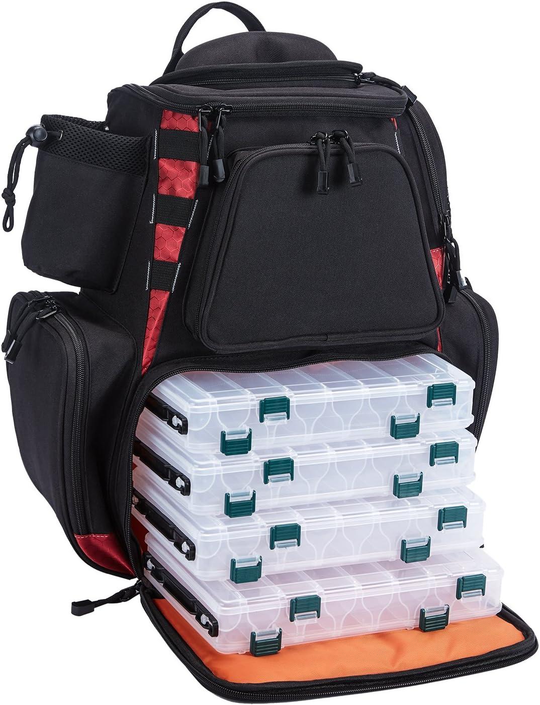 Piscifun fishing tackle backpack large waterproof
