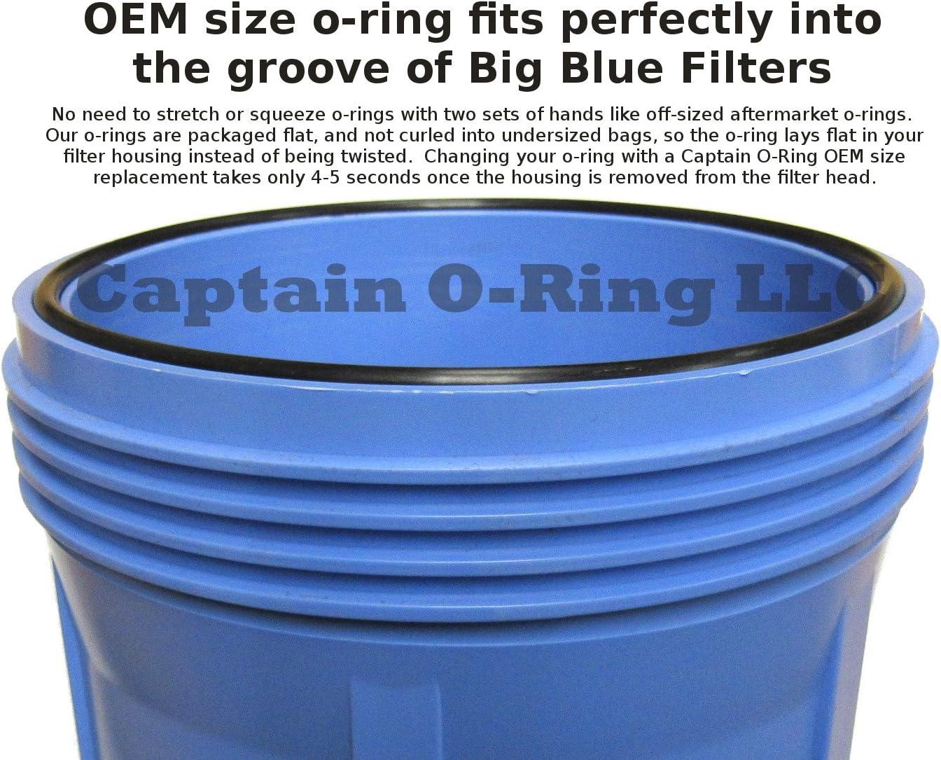 HAKATOP 5pk O-Ring Replacement for Pentek//Pentair 151122 Culligan OR-100 Water Filter Housings