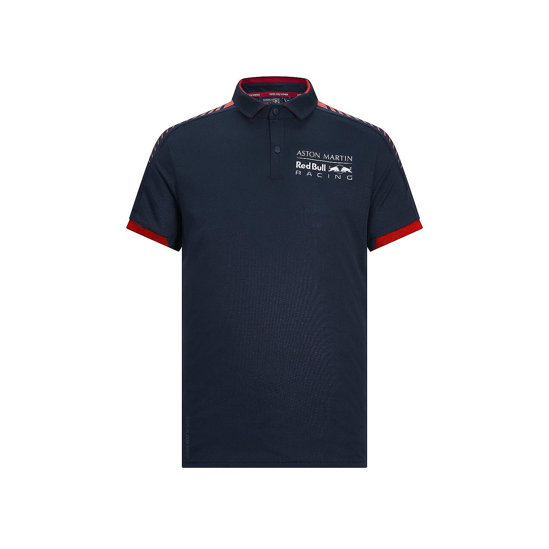 Aston Martin RBR 2019 F1 - Polo de Verano, Azul Marino, Hombre (L ...